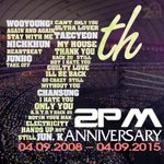 Stay trong, Stay together, Stay healthy, Stay love, Forever!!! 2PM, my youth, my fate, my love! <3 #7HANKYOU2PM http://t.co/rB3s247ihP