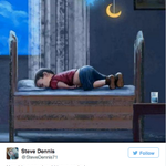 17 Heartbreaking Cartoons Mourning The Drowned Syrian Boy #AylanKurdi http://t.co/7epZLnkSXG http://t.co/4XHiCi6tzf