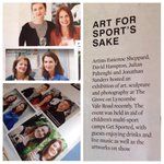 Our Get Art @ The Grove exhibition in @BathLifeMag thank you! #Bath @GET_Sported #fundraising @EstienneArt @BathCoUK http://t.co/A2iUmOB4kE