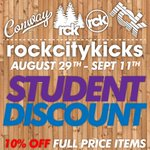 Students dont miss out!!! #Conway #WampusCats #UCABears #CBC #Hendrix http://t.co/rugTu2834Z