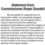 """Protect the integrity"" (puke) RT @Rachel__Nichols: Goodell statement on DeflateGate ruling confirms NFL will appeal. http://t.co/dNNHaKkdCS"