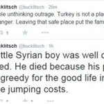 Ukip candidate blames #AylanKurdis greedy parents for death of Syrian boy http://t.co/uemT3ztaBO http://t.co/uBvjAPo8AD
