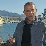 "Obamas Alaska trip gets messy: ""Generally you dont want fish spawning on your feet"" http://t.co/UBIatsVPht http://t.co/iowQFE8Czj"