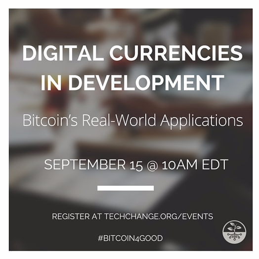 Join @factomproject in our upcoming TechTalk with others using #bitcoin4good! http://t.co/5ATZJchpWz #webinars http://t.co/QtMDke9Vie