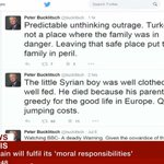 UKIP Candidate's Insensitive Tweet About Dead Syrian Child Was Not a Sacking Offence http://t.co/AHKOgMWPc8 http://t.co/yKY3tfLmbP