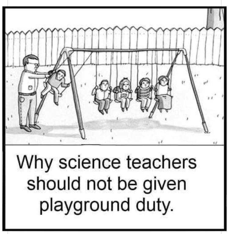 Why scientists should not be given playground duty http://t.co/EQNuMEjXpA