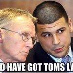 RT nickrickles: Aaron Hernandez right now lol ???? #deflategate #FreeBrady http://t.co/Wx5GDcixea