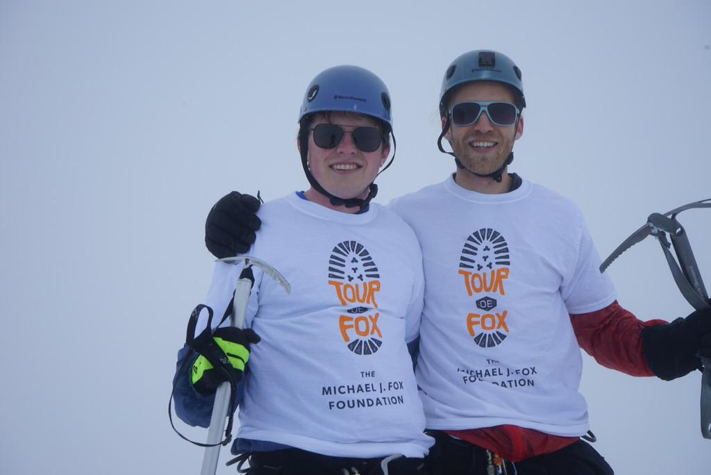 #TBT on the #summit of #MtHood in May with @samfox #Tourdefox