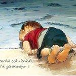 Ilustrações homenageiam menino sírio morto em praia em redes sociais http://t.co/0tdr5Bqwsr #G1 http://t.co/dk9ypddKVE