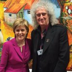 @NicolaSturgeon A great meeting with this stunningly decent woman - the First Minister of the Land of my Mother. Bri http://t.co/dgfG4NQSsy