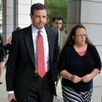 BREAKING: Kim Davis held in contempt of court, now in U.S. Marshals custody - http://t.co/0A1DH8aWNe http://t.co/9iOtKEGypU