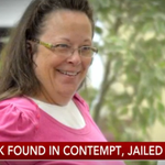 NOW: Ky. clerk taken to jail, may face fines, for refusing to issue same-sex marriage licenses http://t.co/NPUVqCXBxs http://t.co/VIiHIExihA