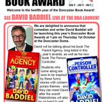 David Baddiel launching Donny Book Award with his hilarious childrens books @DoncasterDome ,1 Oct #doncasterisgreat http://t.co/pxAakh7rn5