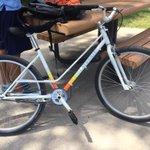 Stolen bike in Austin: my @fairdalebikes Flyer was snatched. Please be on lookout! I am devastated. #atx #bikeatx http://t.co/PMkkPNjLxb