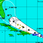 JUST IN: Tropical Storm #Erika strengthens, expected to turn to the northwest http://t.co/0dGLxPD4wN http://t.co/UatZlm1uke