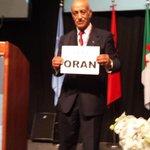 Mes félicitations à #Oran qui vient de remporter lorganisation des jeux Méditerranéens 2021!! #KoulchiMabrouk ???????? ! http://t.co/ujpLcPo5fj
