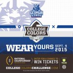 Wear GSU Blue to support your school on Sept. 4. #PantherFamily http://t.co/xR0MAKShCZ