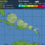 TRACK THE STORM: Here is the latest on Tropical Storm #Erika http://t.co/klIkfAZaaO http://t.co/JRl7VQ8boE
