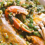 Theres snail, wele and nkaa left in your plate of okro stew. Which do you finish last? #Ghana http://t.co/CLhcYBMmOS