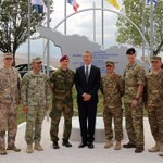The Inauguration Ceremony of #NATO-#Georgia Joint Training and Evaluation Center was attended by #NATO SG http://t.co/d6xMUCBQkI