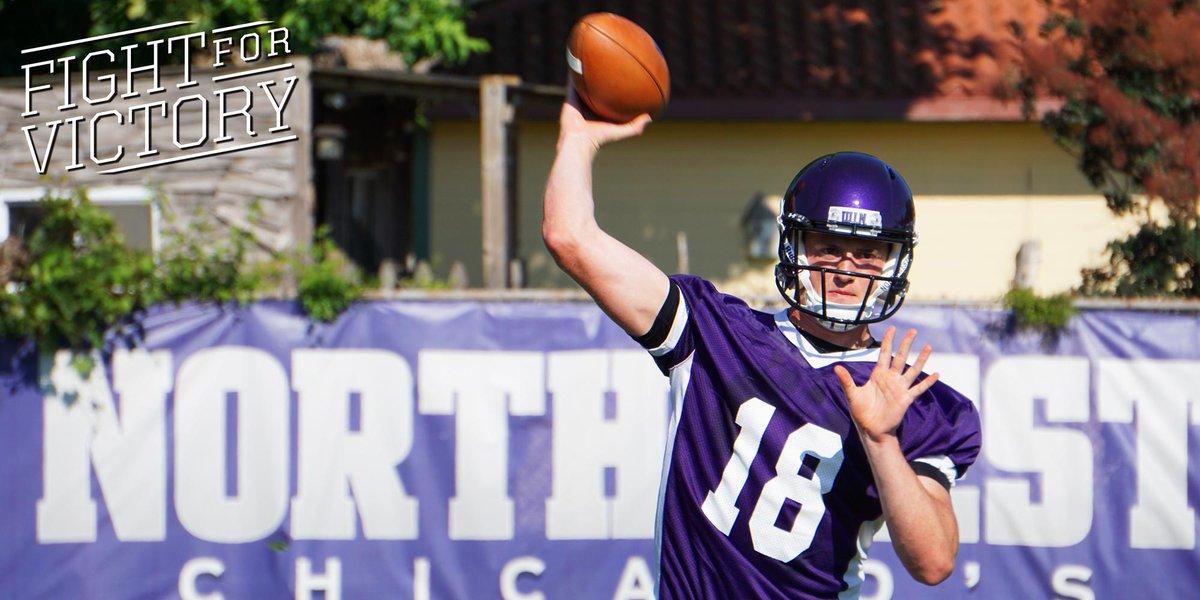 Per @coachfitz51, redshirt freshman Clayton Thorson will be the #B1GCats starting quarterback Sept. 5 at Ryan Field. http://t.co/xCIJ60XiaC