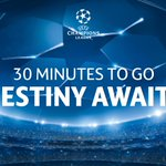 It is nearly time. Are you ready? #UCLdraw http://t.co/e4zUShJVKg