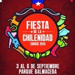 ¡El mes de la patria se vive en Curicó! Y lo comenzamos a disfrutar con la Fiesta de la chilenidad. http://t.co/gx8uNkVE7c