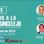 Hoy jueves 27 de agosto 6pm en http://t.co/YICgKRCAuN : Transmisión en vivo del DEBATE de Candidatos a @alcaldiasljo http://t.co/DBXuxmOB80
