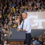 Georgia Tech had 6 days to prepare for President Obamas visit to campus earlier this year. #InstituteAddress http://t.co/knJWoqvdFa