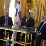 En este momento el Pdte. @JC_Varela encabeza sanción de Ley de Carrera Judicial. http://t.co/1dUMstp6ov
