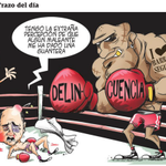 #TrazoDelDía La delincuencia noqueó a @aguilera_rodolf. Miren lo que le pasó al ministro de la percepción. http://t.co/SqJuUq90iZ