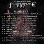 "Ini Rundown schedule Gig IndiependenceDay @PaluSyndicate  .Buat cewe cewe yang mau datang ""GRATIS""  JANGAN LEWATKAN! http://t.co/BwaSdGIOg0"