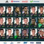 Estos son los 23 jugadores que nos representarán ante Trinidad & Tobago y @Argentina. #IncondicionalEs http://t.co/FNMbHqCk1a