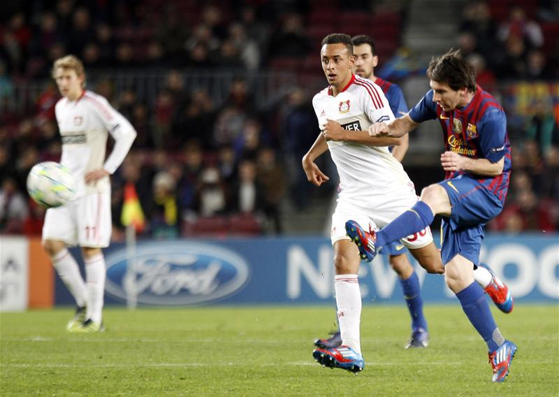 When Barcelona Played Leverkusen Last Lionel Messi Became The First