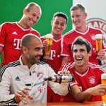 BREAKING: Bayern Munich react to drawing out Arsenal. http://t.co/ch0ayRDuQw