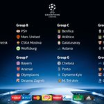 """""""The official result of the #UCLdraw http://t.co/8AsVv56jpg"""""""