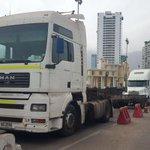 #Iquique Se Suma #camionerosalamoneda bloquean acceso a puerto de #Iquique http://t.co/yMD1VC7jTY