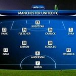 #MUFCs last side to face Wolfsburg looked like this... And won 3-1. http://t.co/bDd6RpmFK3