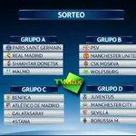 #FÚTBOL Así quedaron los grupos tras el sorteo Champions ¡No se pierdan el Torneo por @tvmaxpanama ! @LaureanoBarria http://t.co/P7ny6ac3eH