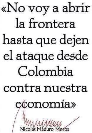 Así , así, así es q se gobierna mi Pdte @NicolasMaduro, no de su brazo a torcer !!! #MaduroVictoriaEnLaFrontera http://t.co/rGYZCccDyK