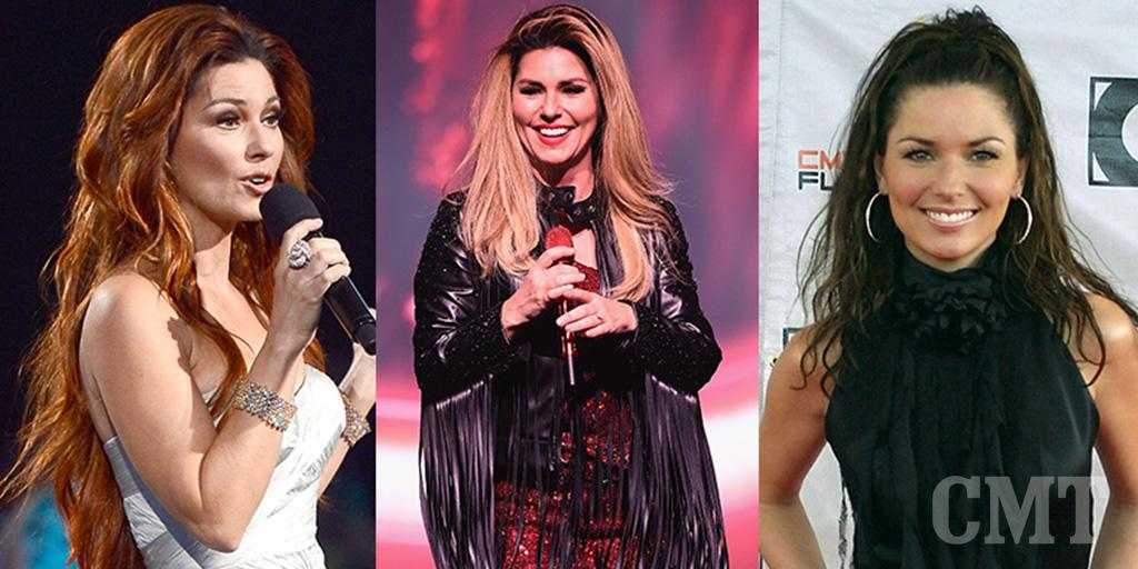 .@shaniatwain turns 50 this tomorrow! Flip through her hairstyles over the years #CMTShania50 http://t.co/icRX5klZAY http://t.co/4thV81VnJx