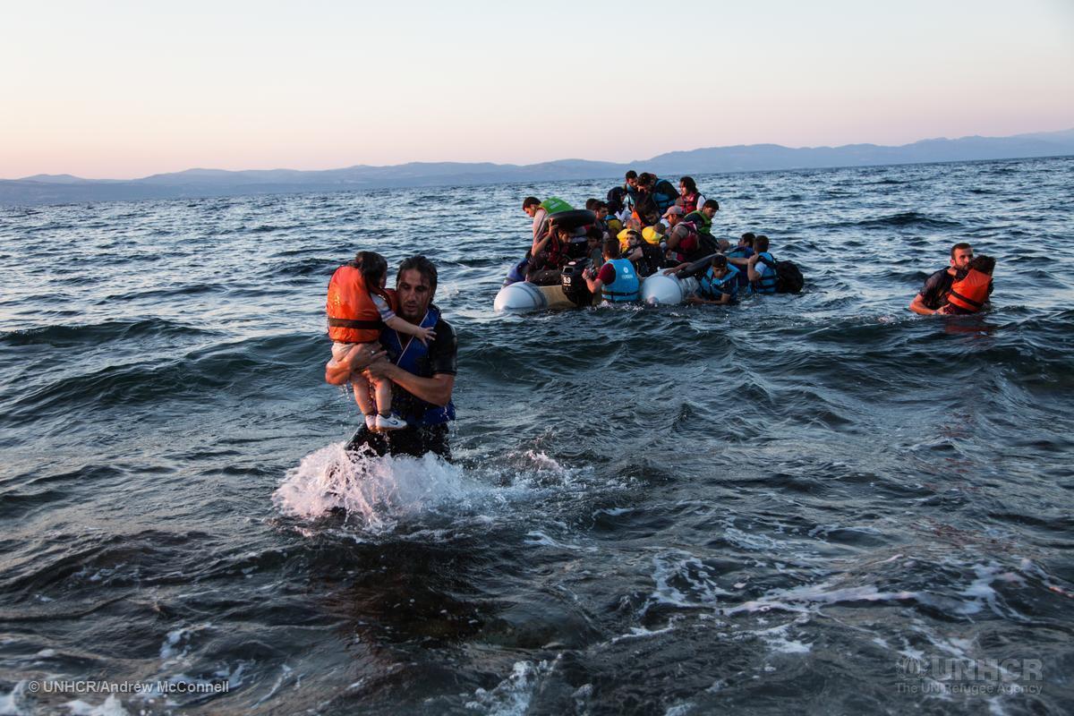 """""""Ceux que vous appelez des #Migrants sont en grande partie des #refugiés"""" - António Guterres http://t.co/ODoTz2o0cc http://t.co/Qcqc10K4M5"""