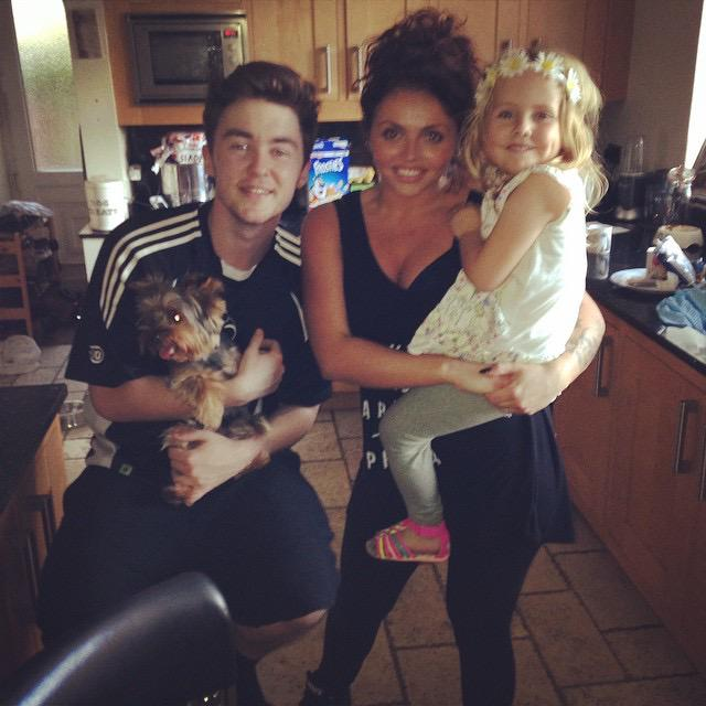 So happy my little girl Lexi got to meet @LittleMix Jesy & @Jake_Rixton today! She's made up..Thank you!