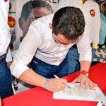 Firmamos acuerdo programático con @MovimientoMAIS para que Santa Marta siga cambiando. #RafaAlcalde http://t.co/TFltSC7nTt