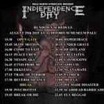 Rundown schedule #IndiependenceDay HAJAR !!! See you cewe cewe *kiss* http://t.co/QnRsKHVVZm