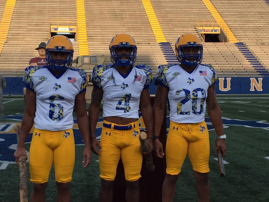 McNeese football reveals jersey for Military Appreciation game on Sept. 12 http://t.co/Eux3vxUafD