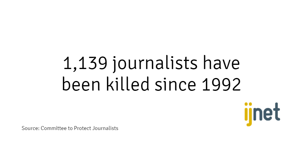 Journalism safety needs to be a top priority for news organizations, governments + journalists http://t.co/Xd3RzIdlNs http://t.co/SQ22UYYzm5