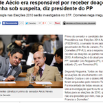 """Seria deste FRANSCISO que o Janot falava? """"Como se diz na nossa terra né Senador Aécio"""" http://t.co/40k9tSZIrb"""