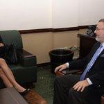 Min @miltonhenriquez sostuvo reunión de cortesía con la ministra de Justicia de Chile http://t.co/mJzeDkIA09 http://t.co/2yULa9MCMd