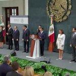 El Presidente @EPN tomó protesta a las y los nuevos integrantes de su #Gabinete http://t.co/C5NEIFSaUb